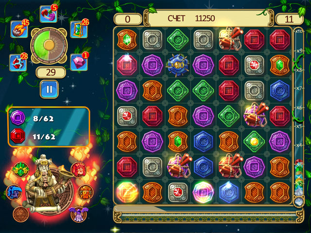 montezuma blitz screenshot0 Сокровища Монтесумы. Блиц