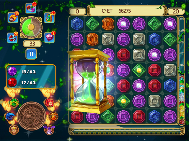 montezuma blitz screenshot2 Сокровища Монтесумы. Блиц