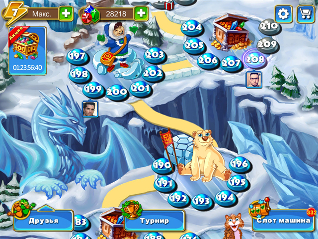 montezuma blitz screenshot3 Сокровища Монтесумы. Блиц