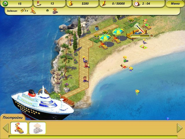 paradise beach 2 screenshot0 Пляжный рай 2. Вокруг света
