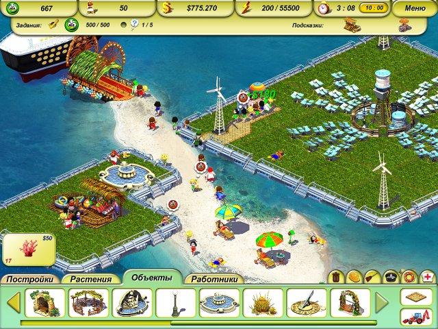 paradise beach 2 screenshot6 Пляжный рай 2. Вокруг света