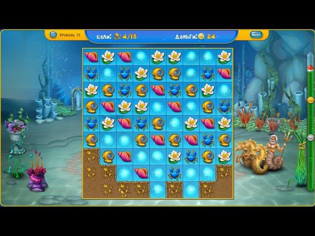 fishdom depths of time screenshot2 Фишдом. Глубины времени