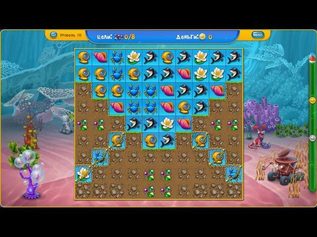 fishdom depths of time screenshot4 Фишдом. Глубины времени