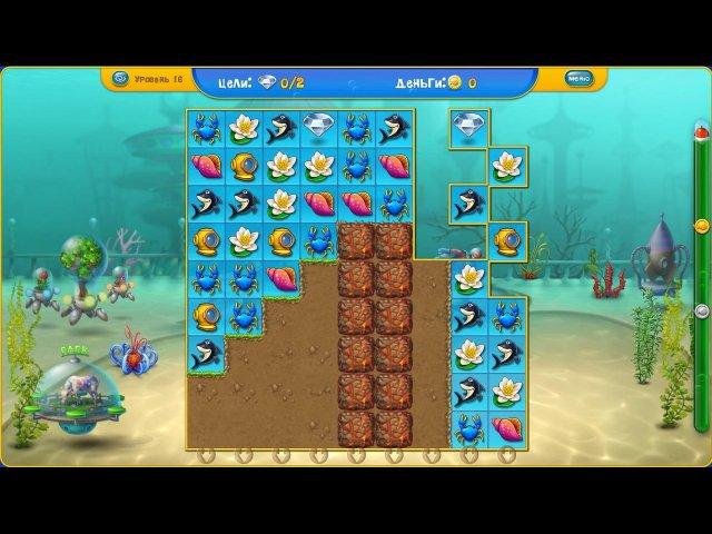 fishdom depths of time screenshot5 Фишдом. Глубины времени