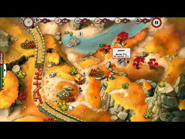 building the great wall of china 2 collectors edition screenshot1 Строительство Великой Китайской стены 2. Коллекционное издание