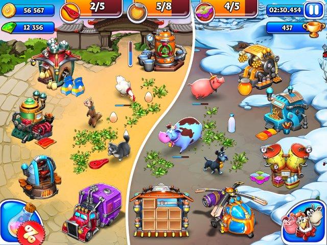 farm frenzy inc 2 screenshot0 Веселая ферма. Остров безумного медведя