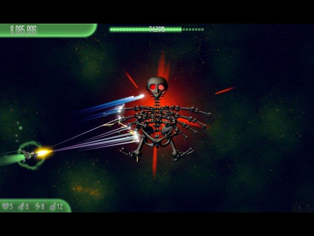 chicken invaders 5 cluck of the dark side halloween edition screenshot4 Вторжение кур 5. Темный клюв. Halloween Edition
