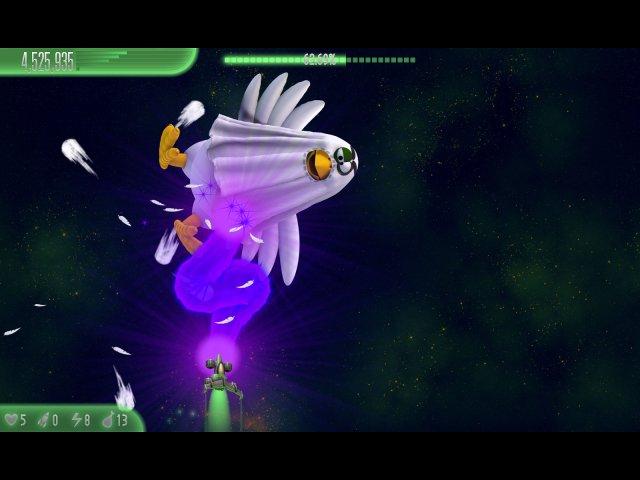 chicken invaders 5 cluck of the dark side halloween edition screenshot6 Вторжение кур 5. Темный клюв. Halloween Edition