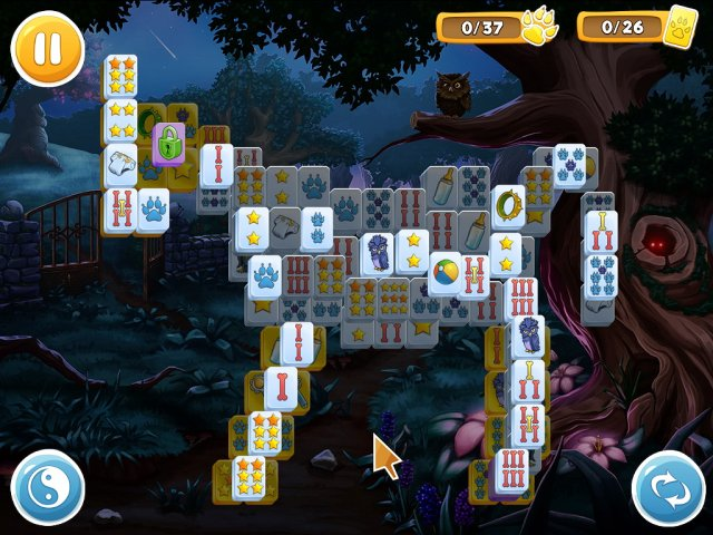 mahjong wolfs stories screenshot0 Маджонг. Волчьи истории