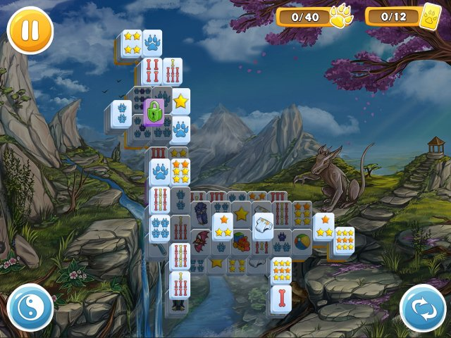 mahjong wolfs stories screenshot3 Маджонг. Волчьи истории