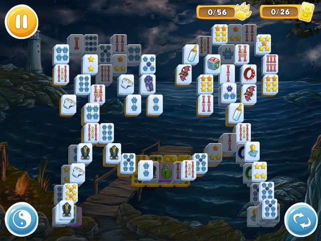 mahjong wolfs stories screenshot5 Маджонг. Волчьи истории
